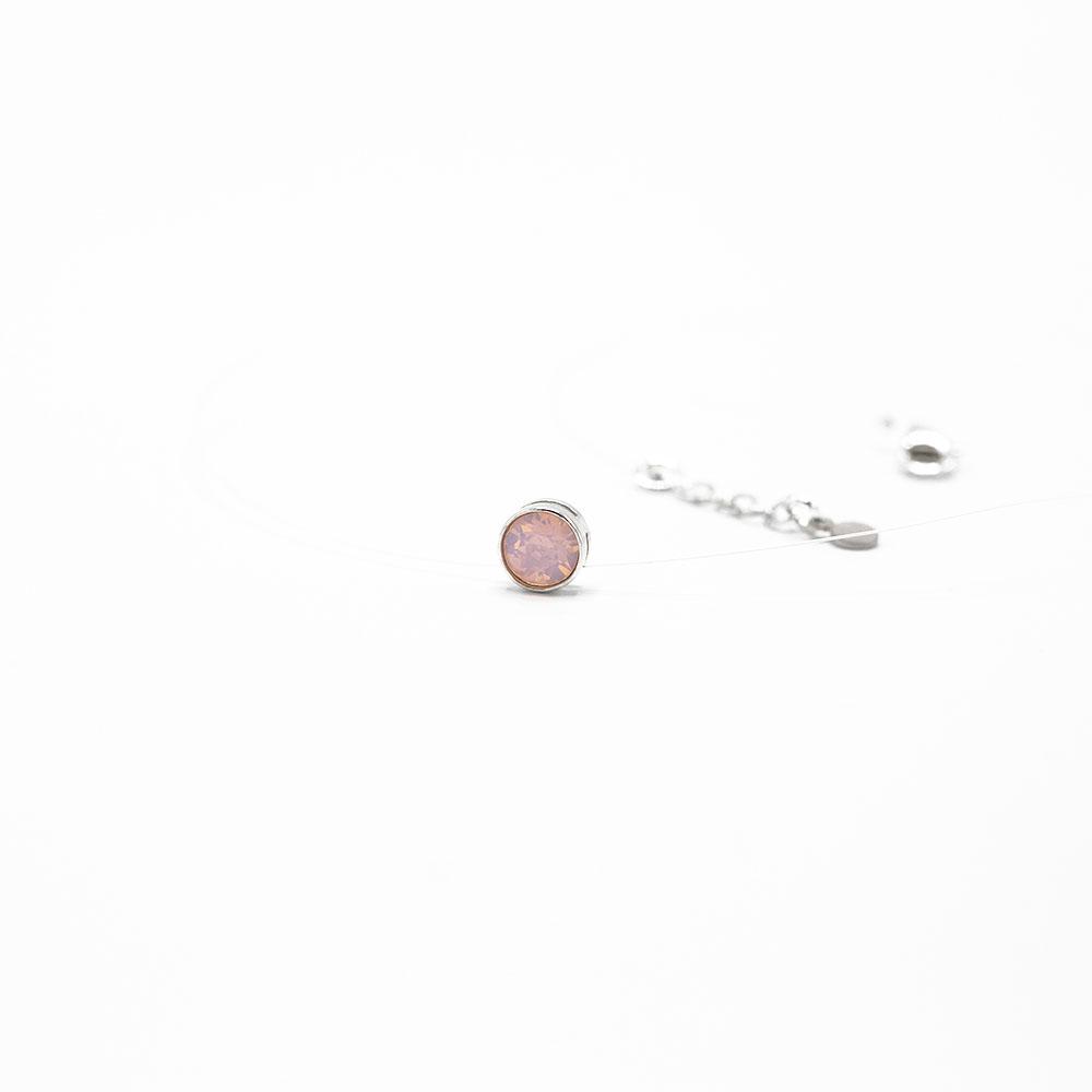 Lant fir transparent argint Rose Watter