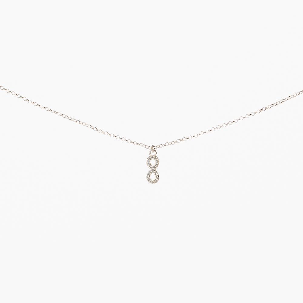 Lant din argint 925‰ charm Infinit mic