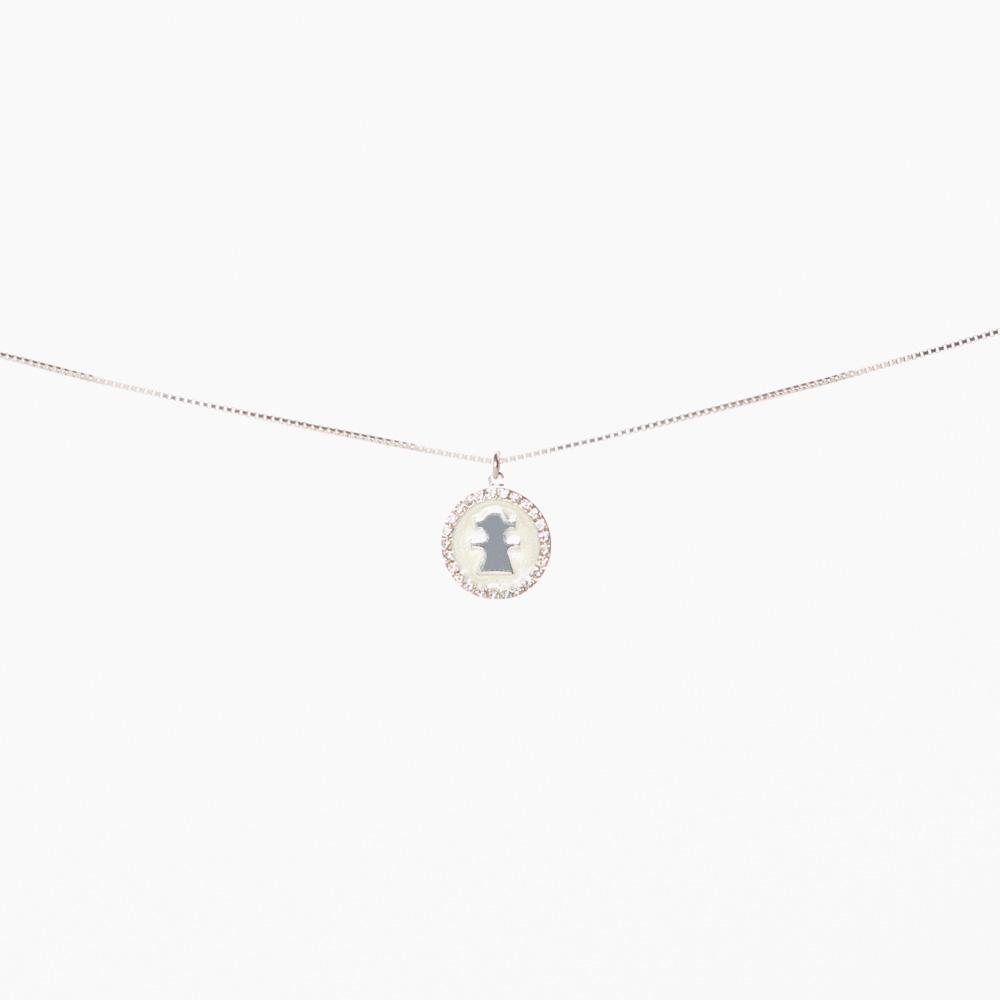 Lant din argint 925‰ charm Fetita