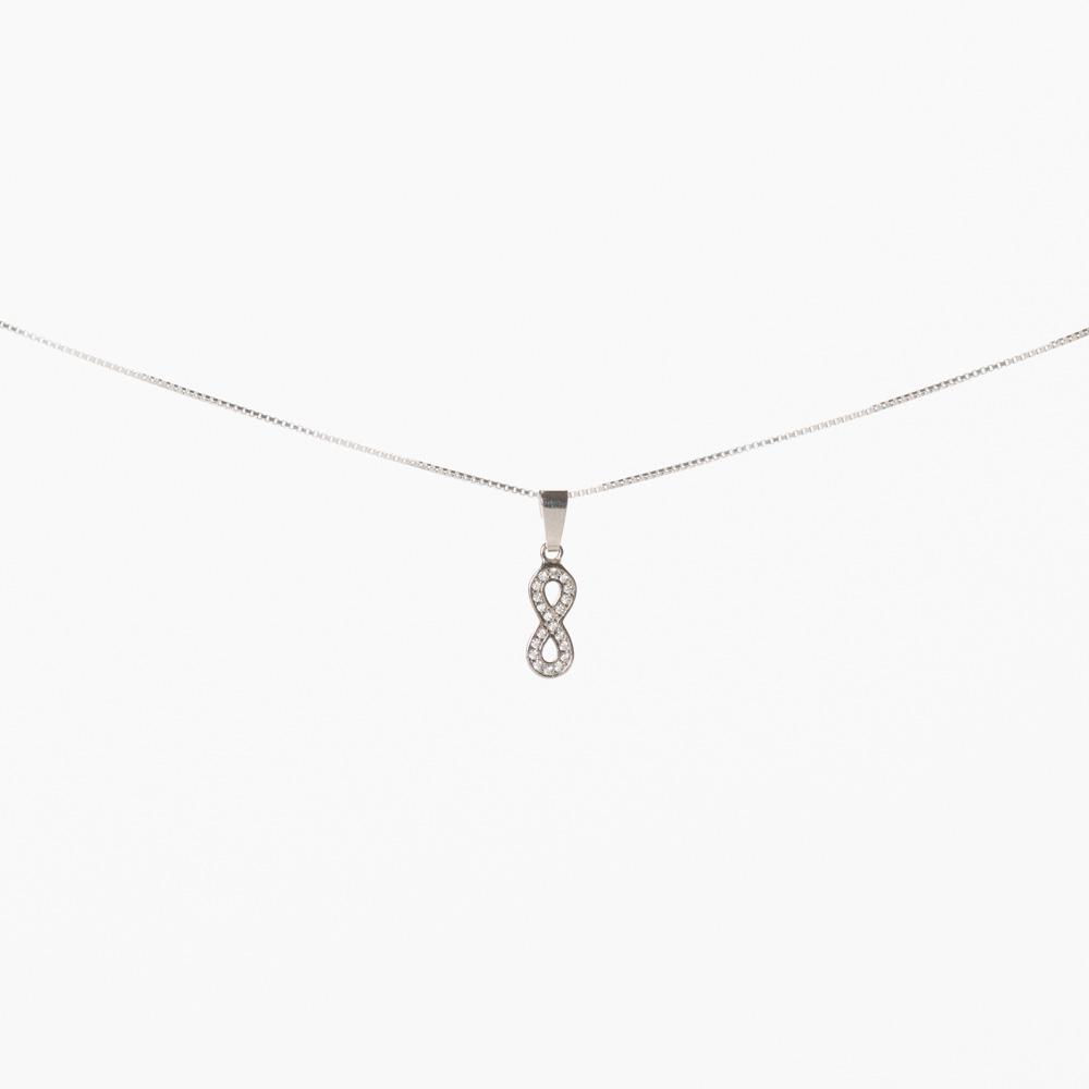 Lant din argint 925‰ charm Infinit mare