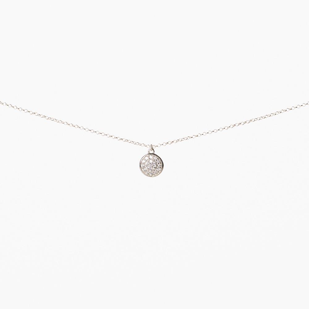 Lant din argint 925‰ charm rotund